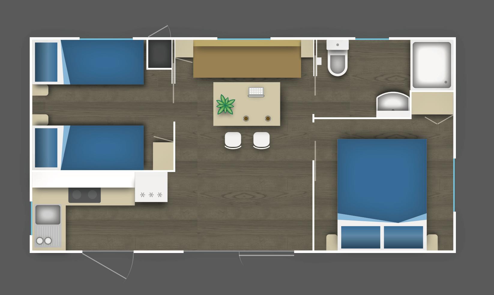 Case mobili camping valle santa maria for Tutto casa mobili
