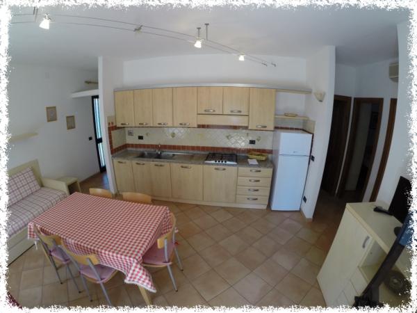 appartamento 13 cucina